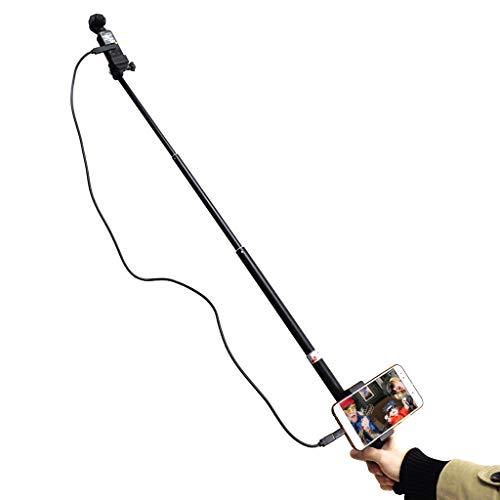 Sunnywill Selfie Stick Mount Phone Holder per DJI OSMO Stabilizzatore palmare palmare Tascabile (Nero)