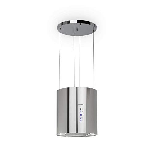 Klarstein Barett extractor de humos - Campana extractora aislada , Ø 35cm...