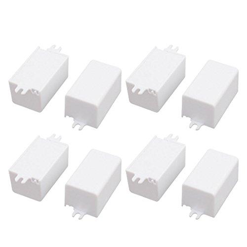 Aexit 8 Stück XL107 44x27x26mm PC flammhemmende Gehäuse Anschlussdose für LED-Treiber (aa93e456b1c0f18609833dc2373238b4) -