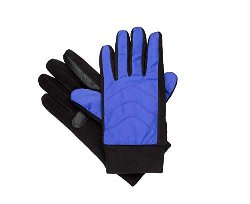 Isotoner Nylon-handschuhe (Isotoner Matrix Nylon/Fleece Glove w/smartDRI and smarTouch Technologies)