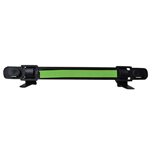 Luckiests Zufällige Farbe Durable Angelrute Tragbare Spuler Linie Halter-Klipp auf Rod Angelzubehör Halten