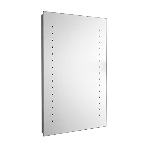 ENKI 400 x 600 mm LED Kosmetikspiegel Badezimmerspiegel Wand MYSTI