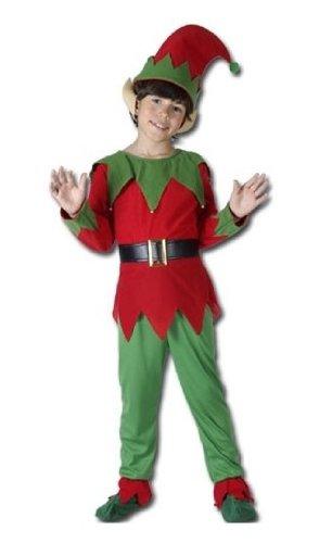 P' tit Clown–87259–Costume Bambino Lusso elfo–Taglia M