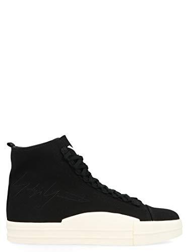 6619dbc7d778f adidas Y-3 Yohji Yamamoto EF2653 Baskets Montantes pour Homme Noir, Noir  (Noir), 40 EU
