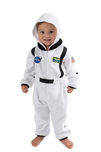 Cuddle Club Fleece-Wimpelkette für Neugeborene bis 4T - Baby Pyjama Winterjacke Oberbekleidung Mantel Kleinkind Kostüm - Weiß - 3-6 Monate