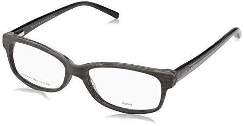 Tommy Hilfiger Unisex-Erwachsene TH 1018 Brillengestelle, Braun, 54