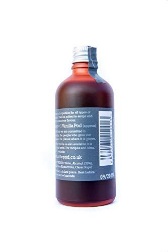 LittlePod Pure Bourbon-Vanille-Extrakt, vegan, koscher, glutenfrei, 1er Pack (1 x 100ml) -
