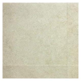 Amtico Spacia Vinyl Designbelag Dry Stone Alba weiss beige Stone zum Verkleben, Kanten gefast wSS5S440133