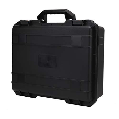 FBGood Militär Spez Hartschalen Drohne Fernbedienung Handtasche, Tragbare Transportkoffer Umhängetasche wasserdichte Aufbewahrungskoffer Lagerung Tasche für DJI Mavic 2 & Smart Controller