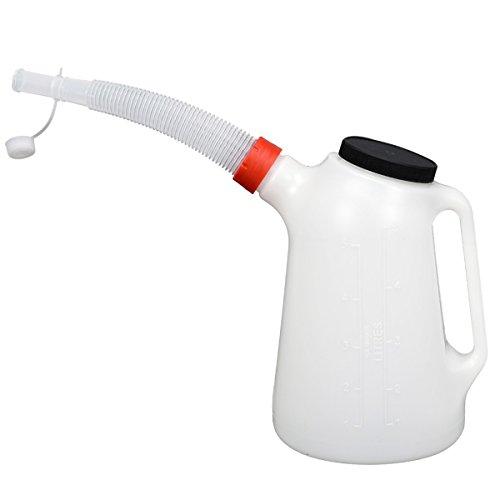 Ölkanne 5 Liter Füllkanne Wasser Öl Wischwasser Messkanne Einfüllkanne Gieser