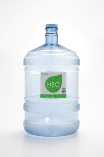 dbb3f5f389 H8O Polycarbonate 3 gallon Tall Water Bottle (with Handle) with 48mm Cap by  H8O