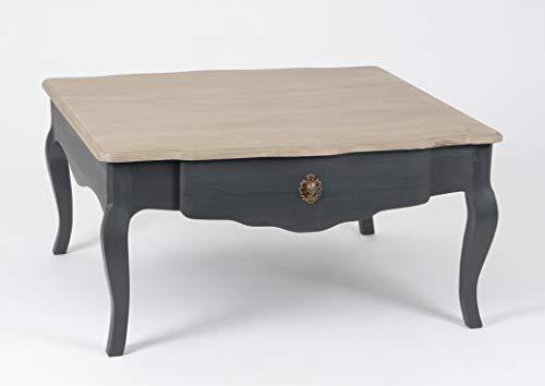Amadeus Table Basse en Bois Mindi, Collection Célestine