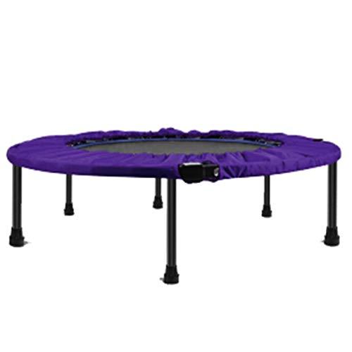 XYWLYLHOME Fitness-Trampolin FüR Erwachsene - HeimsportausrüStung - Indoor-Trampolin FüR Kinder - Faltbar - Tragbares Mini-Trampolin - 40 Zoll