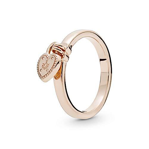 PANDORA Damen-Ringe 925 Sterlingsilber mit '- Ringgröße 52 186571-52 (Pandora Ringen Charms,)
