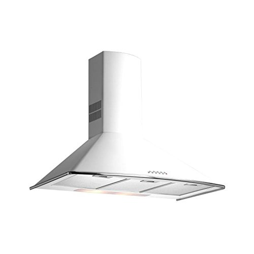 Teka - Campana decorativa pared dm775w blanco clase de eficiencia energetica a