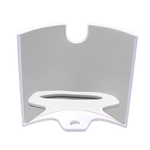Beetest® riflettore a distanza speculare trasmettitore segnale booster antenna gamma extender amplificatore per dji phantom 2 3 standard drone peso leggero accessori silver