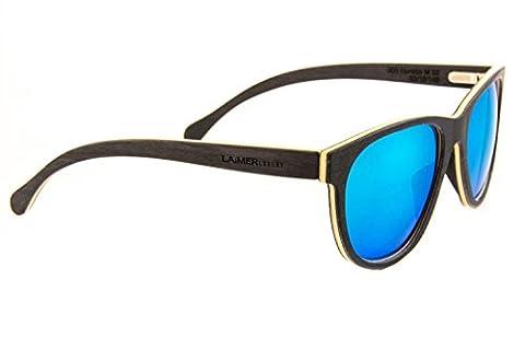 LAiMER Holzbrille HORATIO | 100% Einheimische Hölzer | natürlich, nachhaltig und echt | 100 % Made in Südtirol | federleicht, allergikerfreundlich und angenehmer Tragekomfort