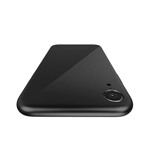 YUNRAY iPhone XR Hülle, Slim Weiche Silikon Handyhülle Kratzfest Stoßfest Schutzhülle Anti-Kratz-Mikrofaser-Futter Schale Bumper Case Cover, Kompatibel mit iPhone XR, 6.1 Zoll (Schwarz)