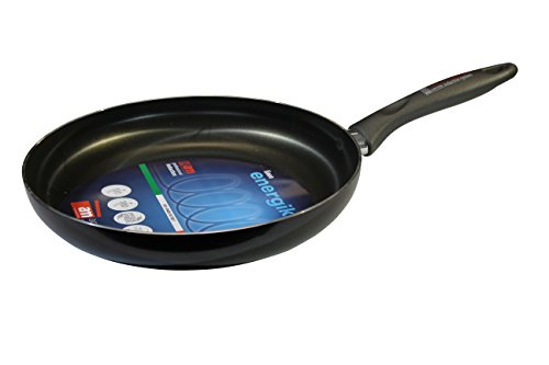 Accademia Mugnano ekpdl28 Poêle energika Fry Pan 28 cm, Aluminium, Gris, 28 x 28 x 5 cm
