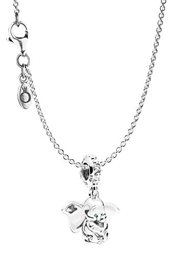 Pandora Halskette mit Charm Dumbo Silber 925 75247 - Charms Disney Silber Pandora