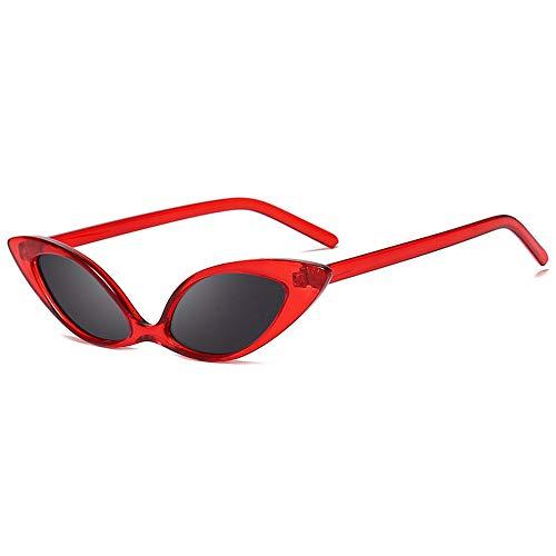Donna Sottile Cat Eye parte Senza Montatura Occhiali da sole 100/% protezione UV