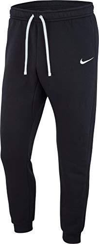 Nike M CFD Pant FLC TM CLUB19 Un Pantalon Homme, Black (White), FR : S (Taille Fabricant : S)
