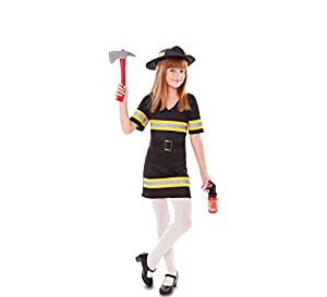 Fyasa 706490-t01Fire Girl disfraz, tamaño mediano