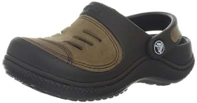 Crocs Yukon, Boys' Clogs, Brown (Espresso/Khaki), 6/7 UK Child