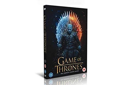 game of thrones series 8 DVD uk region 2