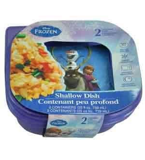 Disney Frozen Sandwich Container 2 Pk [4 Retail Unit(s) Pack] - 10850 by UP