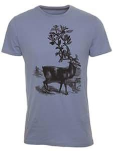Volcom Protopunk - T-shirt - Col ras du cou - Manches courtes - Homme -  Bleu - XS