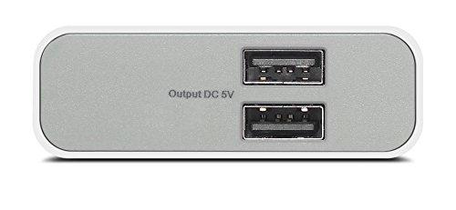 (Renewed) Lenovo PA10400 10400mAh Powerbank - White Image 2