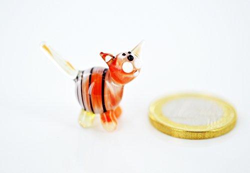 Gato Mini 2–Figura decorativa de cristal (de K de 12