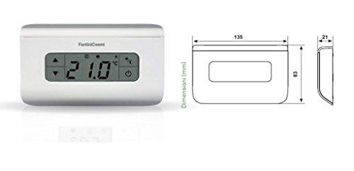 Zoom IMG-1 fantini cosmi ch115ts termostato ambiente