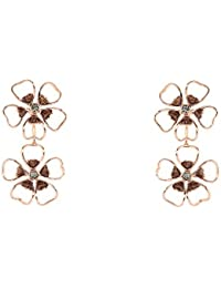 Ted Baker femme    Laiton Rond   Transparent Kristall FASHIONEARRING