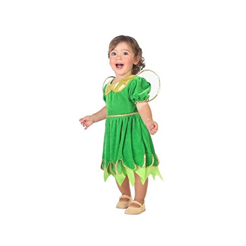 Atosa-Costume Fée 12-24Mois, Couleur Vert, 12à 24(57023)