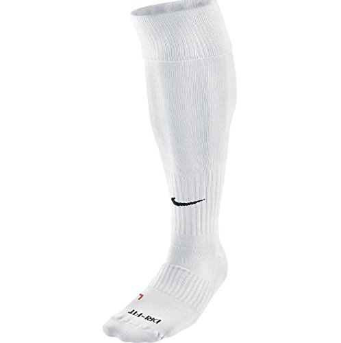 Nike Unisex Classic Dri-Fit- Smlx Fußballsocken Fußballsocken Knee High Classic Football Dri Fit, Weiß (White/Schwarz), XL (50 Classic Schuh)