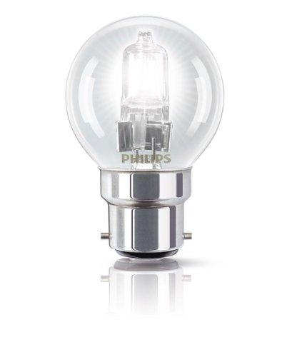 Philips Ampoule EcoHalogène Sphérique Culot B22 42 Watts consommés Equivalence incandescence : 55W