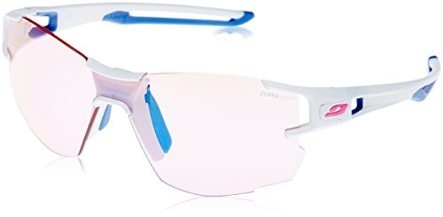Julbo Aerolite Zebra Light Red Größe one size weiß/blau