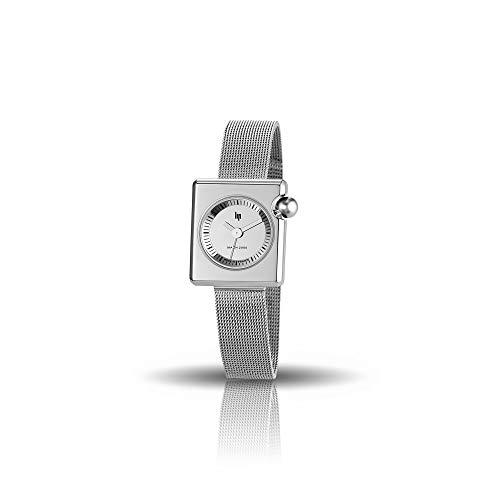 LIP Mach 2000 Mini Square Métal Montre Femme Bracelet Argenté-671108