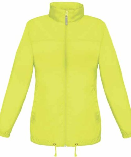 Lightweight Ladies Womens Showerproof Cycling Running Over Jacket [ALL SIZES AVAILABLE]