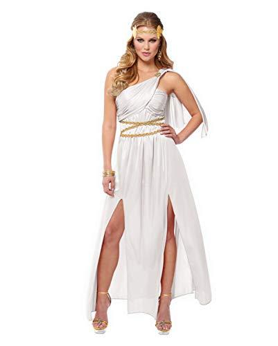 Horror-Shop Griechische Göttin Athena Kostüm für Faschingsbälle M (Griechische Göttin Athena-kostüme)