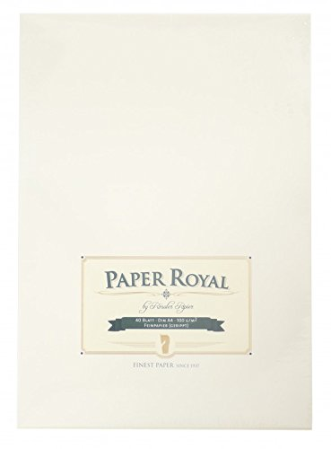 Briefblock 40/Din A4 Paper Royal Chamois