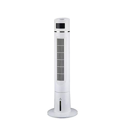 Ventilateur De Tour Refroidisseur D'air Froid Climatiseur Portable Mobile Évaporatif Télécommande Timing Smart Touch L'humidification (Couleur : White1)