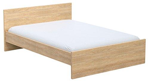 INFINIKIT Haven Bett 160 x 200 cm - goldene Eiche