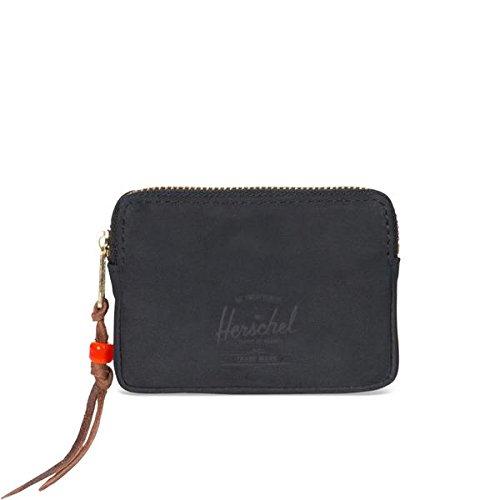 herschel-oxford-pouch-leather-black-nubuck-leather