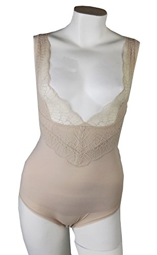Rivers Trading Damen Formender Body beige natur Gr. 48, nude (Seam Pencil-skirt)