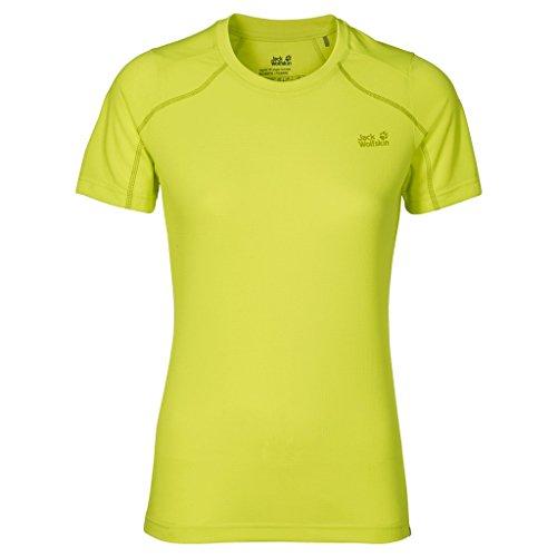 Jack Wolfskin Damen Helium Chill T-Shirt Medium Bright Absinth -