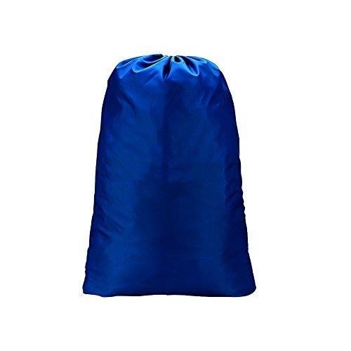 Extra große Wäschesack mit Kordelzug für die Apartments, Reisen, Mehrbettzimmer oder Vacations von meowoo (Blau) (Kordelzug Zustand)