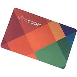 Carte de Blocage RFID NFC Ultra Mince avec Brouilleur de Signal; Protection de Cartes de Crédit, CB, Passeport; Protecteurs de Carte bancaire sans Contact et Tout Votre Portefeuille;